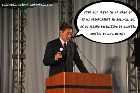 hirai motion controller los comisionadoz