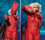 Lady Gaga Rote Pic (11)
