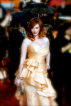 Christinahendricks-posingforphotos-voluptuous-peachgown_897