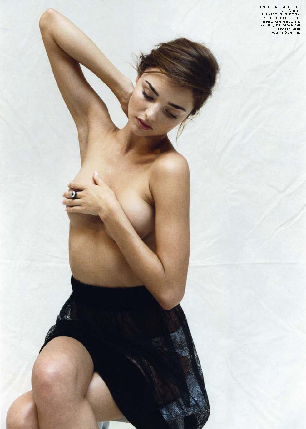 This brilliant Miranda kerr fully naked