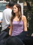 Minka Kelly Strolls The Set Of 'The Roommate' In LA! 1/1