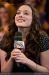 """Michael Cera and Kat Dennings Visit MuchOnDemand to Promote Their New Film """"Nick & Nora's Infinite Playlist""""."""